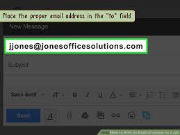 Body Of An Email When Sending Resume How To Write An Email Of Interest For A Job 13 Steps