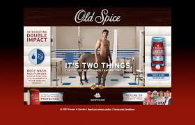 printable area old os old spice double impact tv interactive print chris lael larson