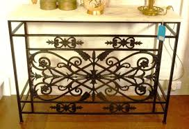 black metal entry table wrought iron entry table kinsleymeeting com