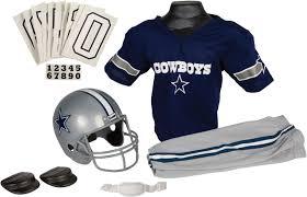 franklin dallas cowboys kids u0027 deluxe uniform set u0027s sporting