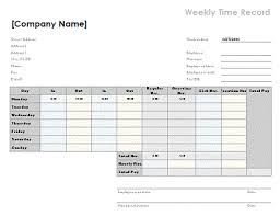 Free Timesheet Template Excel Free Excel Timesheet Templates