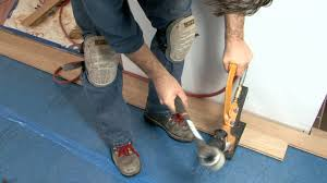 How To Install Laminate Flooring Youtube Flooring How To Install Nail Down Unfinishedod Floors Youtube