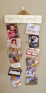 diy christmas card display card displays diy christmas and display
