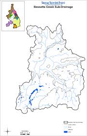 Blank World Map Pdf by Watershed Maps Shuswap Watershed Project