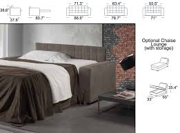 Modern Italian Furniture Nyc by Modern Italian Sofa Bed Biscotto By Il Benessere