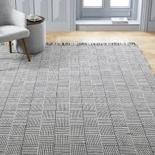 Indoor Outdoor Rug Basketweave Indoor Outdoor Rug Black West Elm