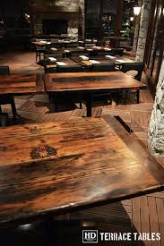 reclaimed wood restaurant table tops reclaimed wood restaurant tables cambridge mill gerald reinink 14