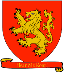 house lannister file a song of ice and fire arms of house lannister red scroll png