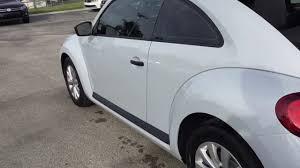 volkswagen beetle white 2017 volkswagen beetle s youtube