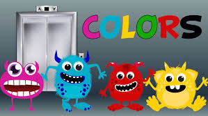 funny colors learn colors with funny monsters teach colours baby toddler