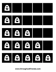 five frame three ghost friends ghost five frames