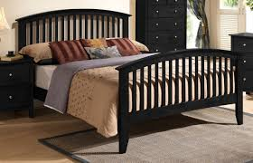 black finish mission style queen bed orange county ca