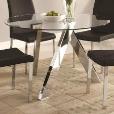 pedestal table base ideas incredible chrome base contemporary dining tables ideas ing tables
