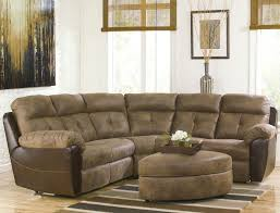 furniture wonderful small sectional sofa with recliner