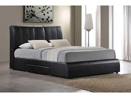 Tufted Bed With Storage Acme Furniture Kofi Upholstered King Bed W Storage And Pull Down