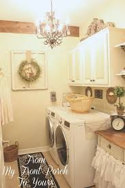 Country Laundry Room Decorating Ideas Country Laundry Room From My Front Porch To Yours Home