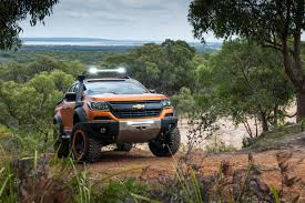 chevy colorado lowered chevrolet colorado xtreme concept revealed gm authority