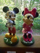 disney plastic resin statues lawn ornaments ebay
