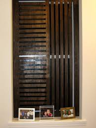 weekend projects create a wooden privacy screen for a window hgtv