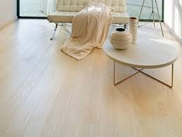 laminate flooring combined with stainless steel frame