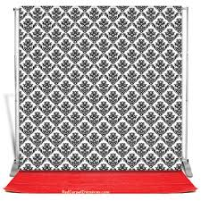 Photo Booth Backdrop Classic Wallpaper Photobooth Backdrop Red Carpet Kit 8x8 U2014 Red