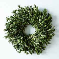 herb wreath boxwood wreath wreath exclusive shop food52 on food52