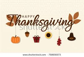 happy thanksgiving card free vector free vector