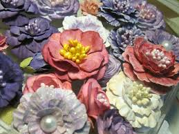 Handmade Flowers Paper - 162 best handmade flowers images on pinterest fabric flowers