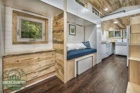 storage rich 290 sq ft juniper tiny house uses advanced framing