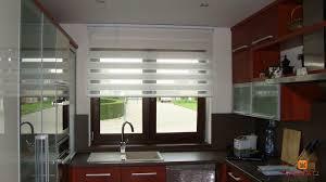 gardine für küche vorhänge küchenfenster modern möbelideen