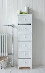 Freestanding White Bathroom Furniture White Freestanding Bathroom Storage Probeta Info