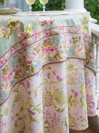 evelyn tablecloth in soft rose by april cornell spring 2015