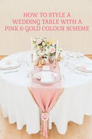 Pink Table L 46 Best Wedding Table Settings Wedding Table Settings Stock