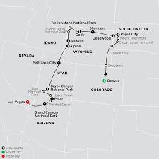 map salt lake city to denver tour west america cosmos affordable travel