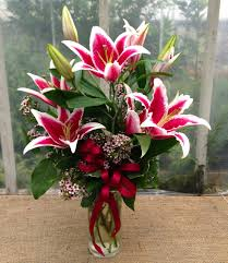 stargazer lilies stargazer bouquet delivered ky michler s florist