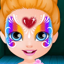 baby barbie face painting fun baby games