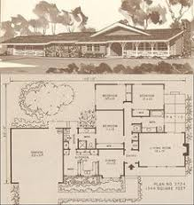 1960s ranch house plans vintage house plans 1960s ranches and l shaped homes posted on