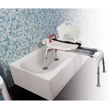 plastic tub transfer bench with adjustable backrest images