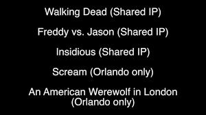 jason halloween horror nights halloween horror nights 2015 update 6 youtube
