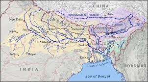 Irrawaddy River Map Ganges Basin Wikipedia