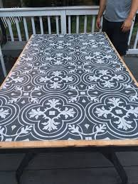 Mosaic Patio Table Top by Diy Tile Tabletop Seeking Lavendar Lane