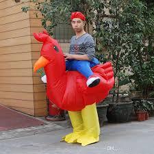 Halloween Chicken Costume Inflatable Costume Purim Halloween Airblown Inflatable Chicken