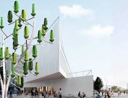 plastic wind trees are bringing sustainable power to residential