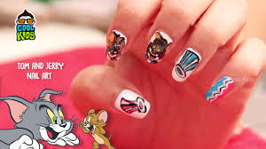 tom and jerry nail art tutorial best friends tom and jerry