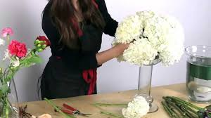Diy Flower Arrangements How To Make A Hydrangea Centerpiece Youtube