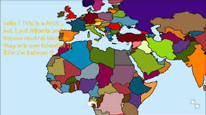 Map Of Eurasia Alternate Future Of Eurasia Part 1 France And Morocco Begins