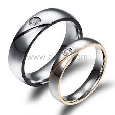 titanium wedding rings engraved titanium wedding rings for men and women personalized