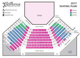 seat map 2017 theatre seating map chemainus theatre festival