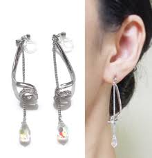 dangle clip on earrings solutions for clip on earrings the most up to date and