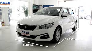 peugeot car 301 2017 peugeot 301 1 6l mt interior and exterior overview youtube